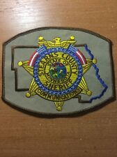 PATCH POLICE COMUNICATIONS SHERIFF STEARNS COUNTY MINNESOTA STATE