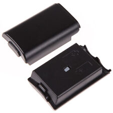 2x Black Xbox 360 Wireless Controller Battery Back Cover Holder Pack Part Shell