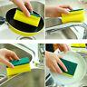 5PCS Cleaning Sponge Foam Dish Pot Washing Catering Scourer Scouing Pad Kitchen
