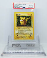 Pokemon BLACK STAR PROMO PIKACHU #1 LEAGUE PROMO CARD PSA 6 EX-MT #*