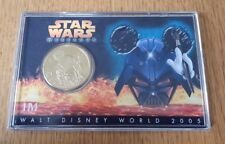 Walt Disney World - Star Wars Weekends 2005 limited edition Gold Coin 1/1000