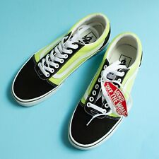 NEW Vans With Tags - Mens Size 7 Skate Shoes - Lime Green, Checkered