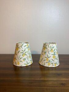 William Morris Orkney Lemon Tree Fabric Sconce Chandelier Candelabra Lampshade