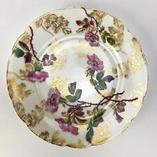 Haviland Limoges Ch Fields Antique Hand Painted Decorative Plate Custom Caldwell
