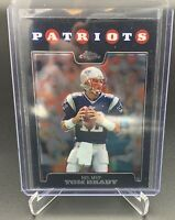 2008 Topps Chrome #TC163 TOM BRADY New England Patriots