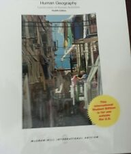 HUMAN GEOGRAPHY 12E, JEROME FELLMANN, GETIS, BJELLAND. Great condition.