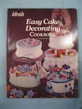 Ideals Easy Cake Decorating Cookbook Vintage Book Copyright 1980 M Brand (O2)