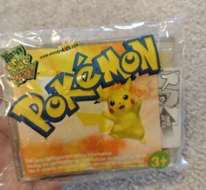 Pokémon Card Torchic Wendy's Kids Meal Toy 2002 Nintendo Compass Pocket Clip