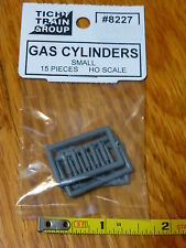 Tichy Train Group HO #8227 Small Gas Cylinder -- Unpainted pkg(15)