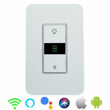 Smart Dimmer Light Switch WiFi in wall Remote Control for Alexa Google Home USA