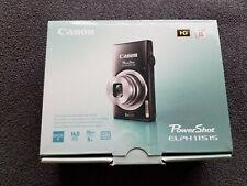 Canon PowerShot ELPH 115 IS / IXUS 132 16.0MP Digital Camera - Black