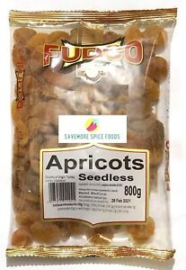 APRICOTS - SEEDLESS - DRIED FRUIT - FUDCO - 800g