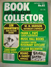Book and Magazine Collector Magazine. Issue no. 82. January 1991. Beano & Dandy