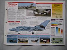 Aircraft of the World Card 25 , Group 7 - Panavia Tornado ADV, Test Pilot