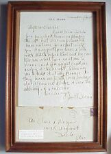Antique 1947 Hollywood Actor Comedian Joe E Brown Signed Letter To Toledo Ohio