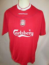 Liverpool 2002-2004 Home Football Shirt Size Large /7990 lfc ynwa trikot maglia
