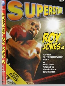 ROY JONES JNR. SUPERSTAR FOUR BOUTS BOXING DVD - COLLECTORS EDITION ON SPECIAL