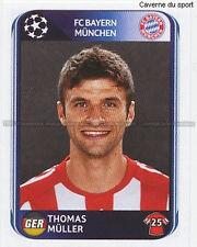 N°291 MULLER # GERMANY BAYERN MUNCHEN UEFA CHAMPIONS LEAGUE 2011 STICKER PANINI