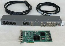 Aja Kona Lhe Pci Card and Klbox With Breakout Harness, Cables