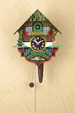 Viertelruf Kuckucksuhr mit 1-Tag-Kettenzugwerk, Quarter Call Cuckoo-Clock 618