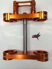 KTM 85 Triple Clamps Orange
