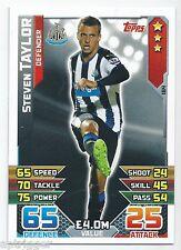 2015 / 2016 EPL Match Attax Base Card (184) Steven TAYLOR Newcastle