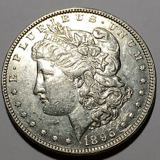 ONE  SILVER DOLLAR  1896 VERY GOOD CONDITION