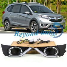 LED DRL Turn Indicator Signal Daytime Running Fog lights Fit For Honda BR-V 15+