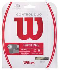 Una serie di controllo WILSON DUO TENNIS Hybrid Tennis Stringhe libero 48 HR UK POST