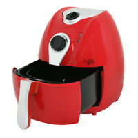 1500W Airfryer Electric System 3.7 qt No-Oil Deep Air Fryer Temperature Control