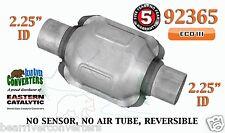 """92365 Eastern Universal Catalytic Converter ECO III 2.25"""" 2 1/4"""" Pipe 6"""" Body"""