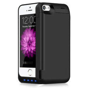 TQTHL 4800mAh Extended Battery Portable Charging Case Cover f iPhone 5 , 5s , 5c