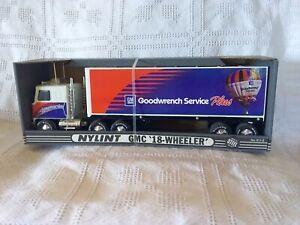 RARE Nylint Skysports GM GMC Goodwrench Service Plus Semi Tractor 18 Wheeler NIB