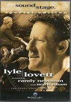 Lyle Lovett - Soundstage (DVD) feat Randy Newman & Mark Isham (New & Sealed)