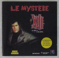Le mystère XIII CD-ROM W. Vance J. Van Hamme Dargaud 1997