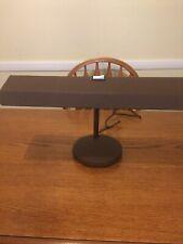 Electrix Desk Light Adjustable Brown Metal Desk Lamp Model 2067 120 Volts