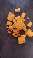 CORK stopper plug round tapered style crafts fishing lab wine *various sizes&Qt*