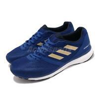 adidas Adizero Adios 4 M Royal Blue Gold Mens Running Shoes EF1463