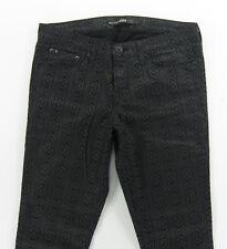 NEW - BIG STAR ALEX Skinny   Stretchy COATED  PRINT women's jeans size 28 / 29