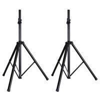 (2) Pyle Universal Tripod Speaker Stand Mount Holder Height Adjustable 6 Ft