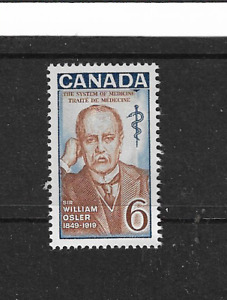 1969 CANADA - 100th DEATH ANNIVERSARY OF SIR WILLIAM OSLER -SINGLE STAMP - MNH.