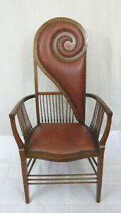 High Design Art Nouveau Chair - Rare