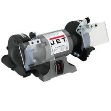 Jet 577101 1 Hp 3450 Rpm 16 Amp 115v Cast Iron Eye Shield Workshop Bench Grinder