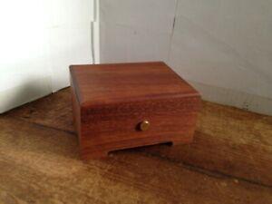 Reuge Wood Music Box~Valse de Brahms Eine kleine Nachtmusik Swiss Movement