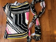 NWT New York and Company Tank and Scarf XS