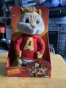 Alvin & The Chipmunks The Squeakquel Jakks Pacific Plush NIB NOT ANIMATED