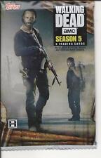 Walking Dead  season 5 , trading  cards  pack