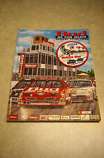 VINTAGE AUGUST 11-14, 1994 NASCAR 'BUD AT THE GLEN' PROGRAM WITH PATCH