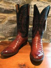 Lucchese Classics Men's 9 D Handcrafted Cowboy Boots E2143
