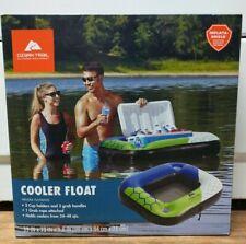 Ozark Trail Outdoor Equipment Cooler Float + 2 Holder cup Beverage Floating Bar